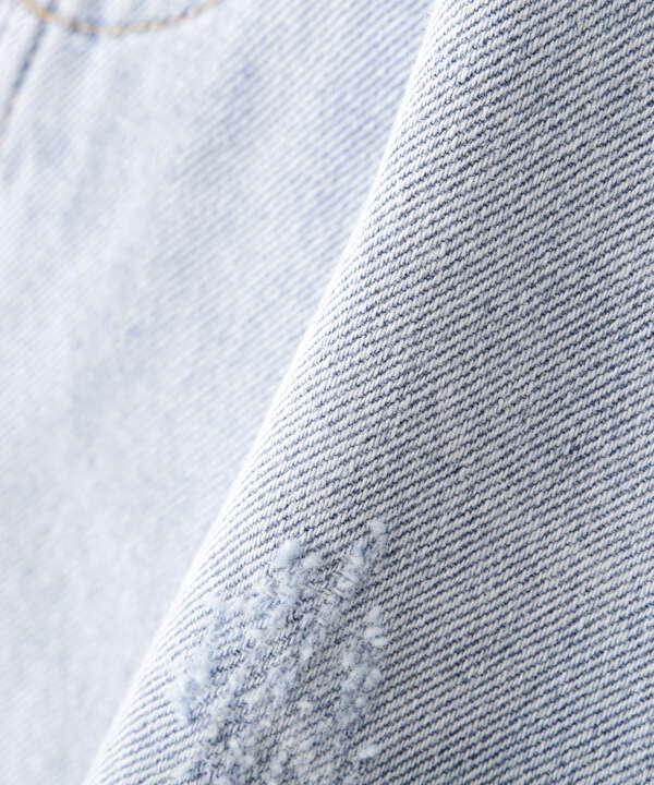 《Sシリーズ対応商品》カットオフデニムショートパンツ