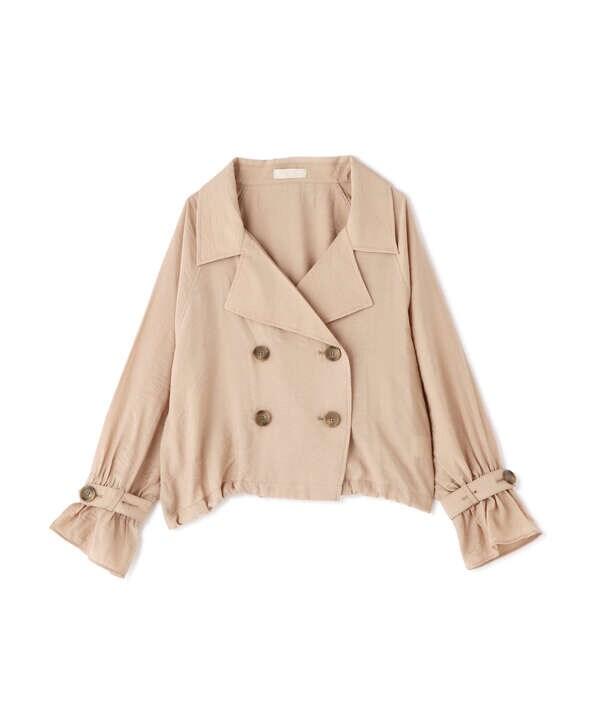 シアートレンチショートジャケット