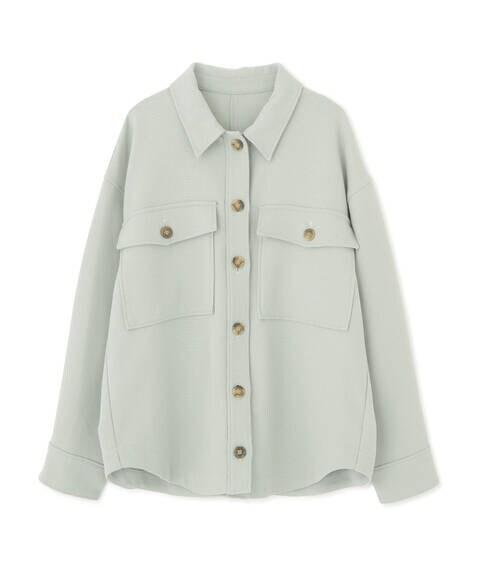 ビッグポケットシャツジャケット