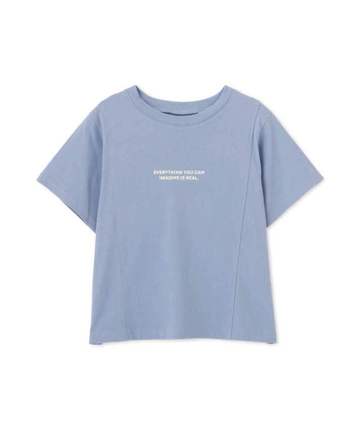 アウトロックロゴプリントTシャツ
