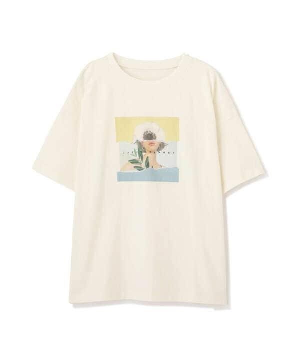 アートプリントビッグTシャツ
