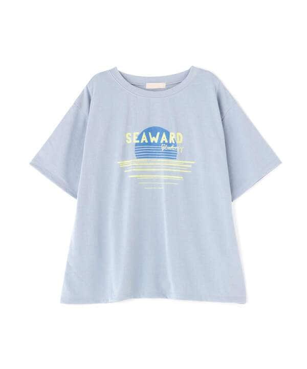 UVレトロモチーフプリントTシャツ