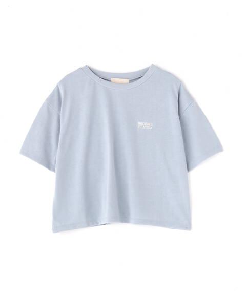 UV短丈プリントTシャツ