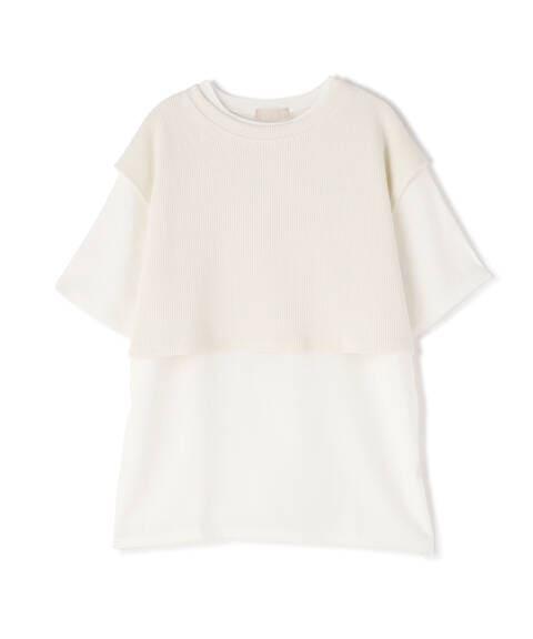 ワッフルベストレイヤードTシャツ