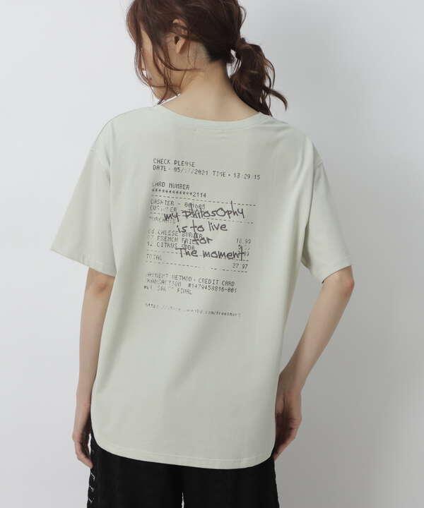ロゴ刺繍ビッグTシャツ