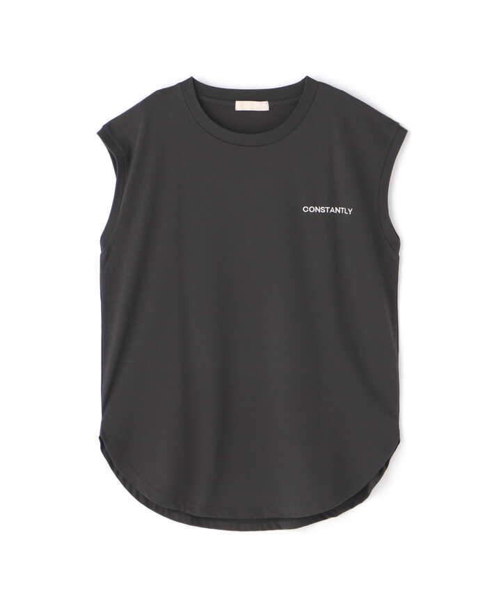 バックプリントフレンチスリーブTシャツ