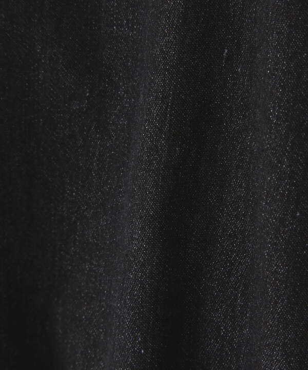 スクエアネック短丈半袖ボリュームスリーブブラウス