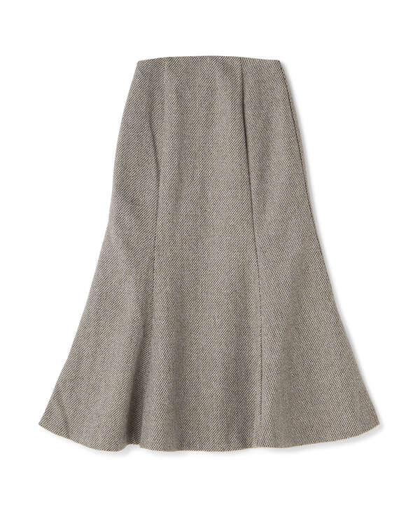 《インフルエンサー森下愛里沙さんレコメンド》《Sシリーズ対応商品》ツィードチェックナロースカート