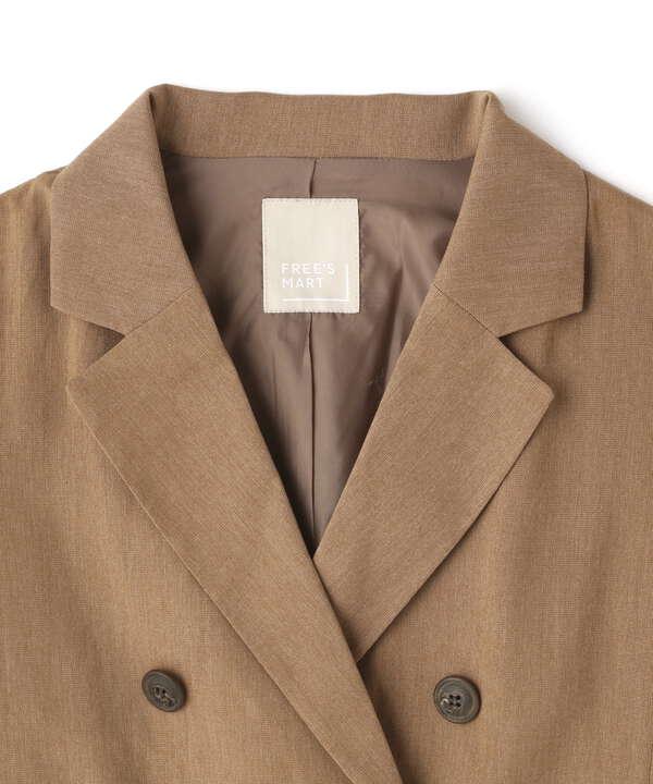 《Sシリーズ対応商品》綿麻半袖ショート丈ジャケット