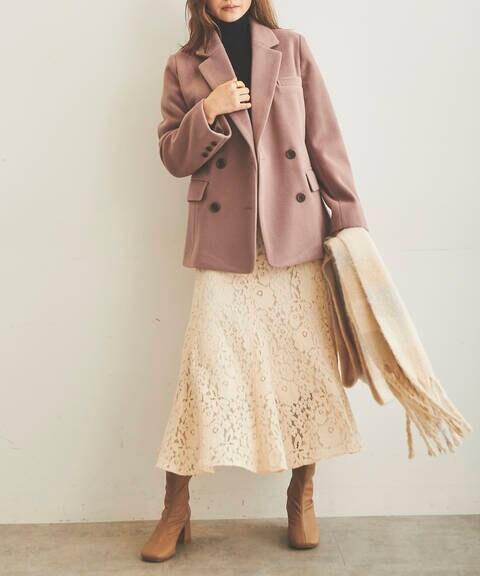 《Sシリーズ対応商品》TRメルトンダブルブレストジャケット