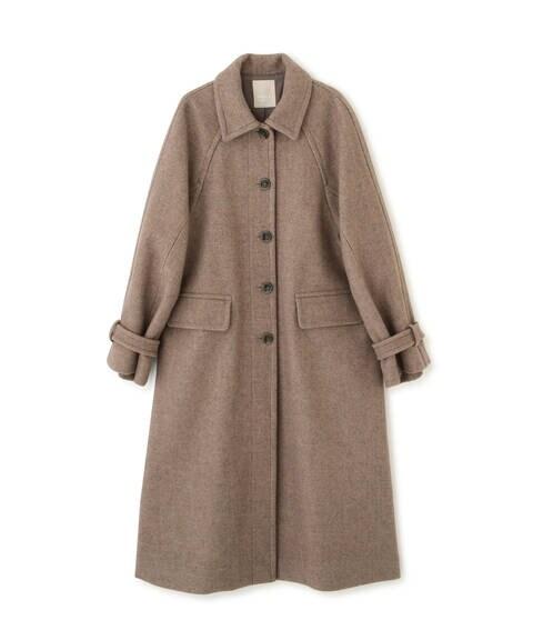 《Sシリーズ対応商品》ジャージメルトンステンカラーコート