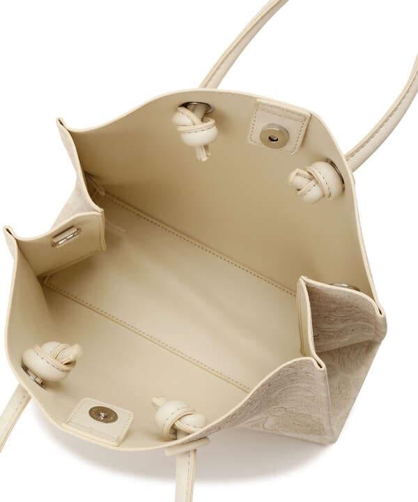 エンボスペイズリーバッグ