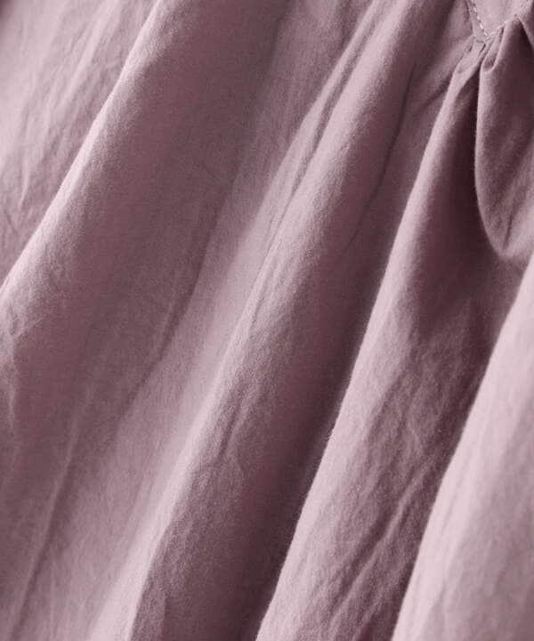 刺繍入りチュニックブラウス