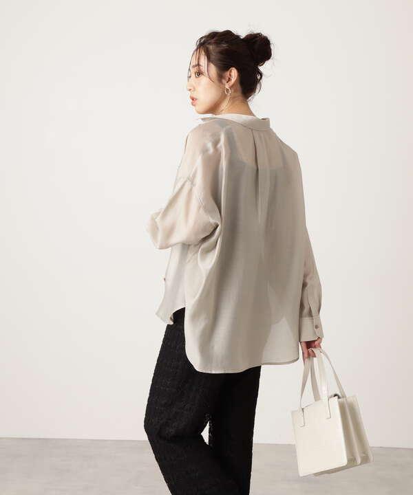 シアーリラックスシャツ