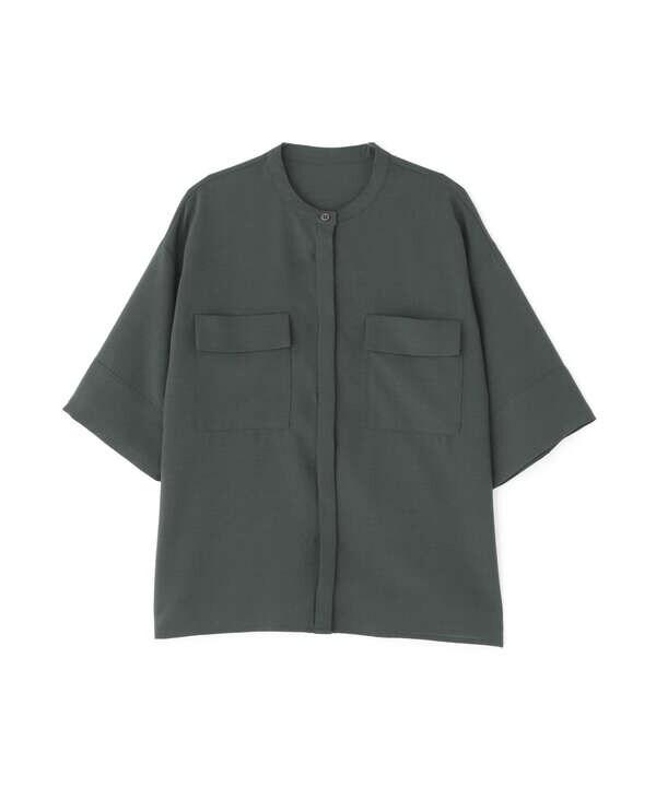 ドライポプリンハーフスリーブシャツ