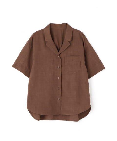 【先行予約4月下旬ー5月上旬入荷予定】開襟ボックスシャツ
