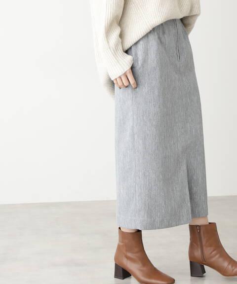 【先行予約1月中旬ー1月下旬入荷予定】ツイードハイウエストタイトスカート
