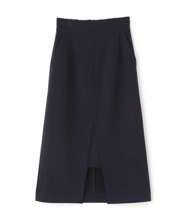 スリットミモレタイトスカート