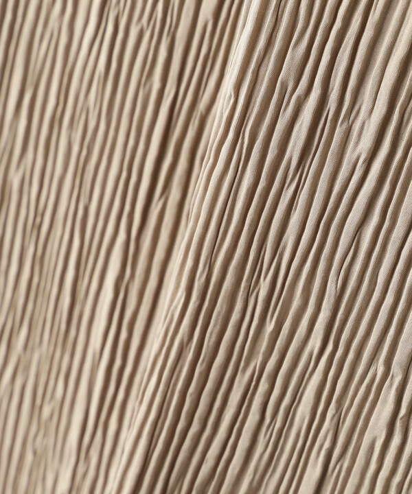 プリーツナロースカート