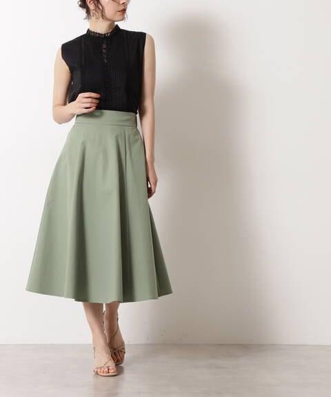 ツイルフレアスカート