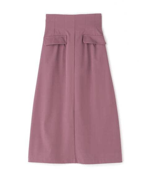【Size Line】フラップミディスカート