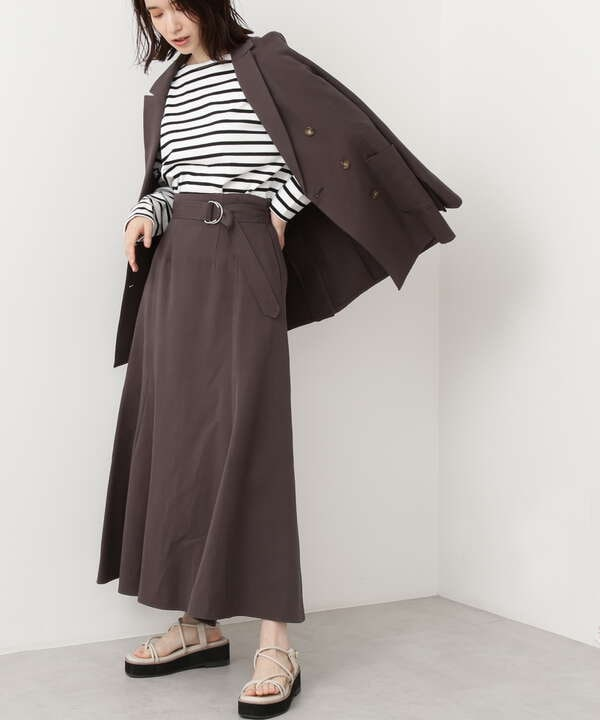 麻混セットアップ スカート《S Size Line》