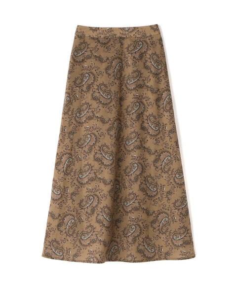 【先行予約4月上旬ー4月中旬入荷予定】ペイズリーシリーズ スカート《S Size Line》