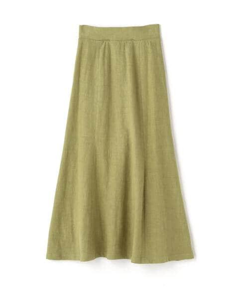 【先行予約4月中旬-4月下旬入荷予定】麻混マキシマーメイドスカート《S Size Line》