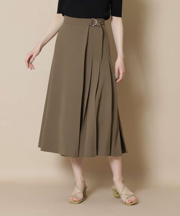 サイドプリーツフレアスカート《S Size Line》