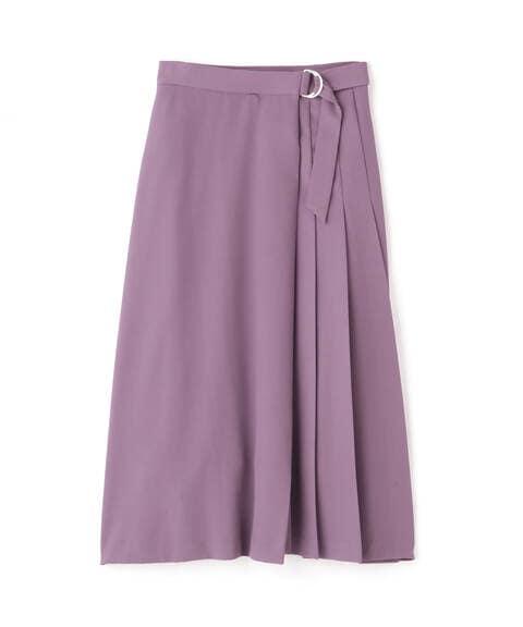 【先行予約5月上旬ー5月中旬入荷予定】サイドプリーツフレアスカート《S Size Line》