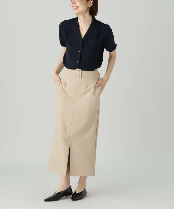 クルミベルトハイウエストタイトスカートⅡ《S Size Line》