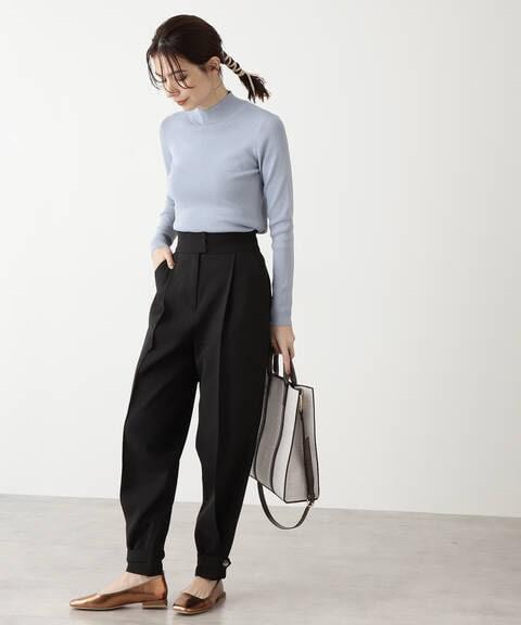 裾ベルト付ジョッパーパンツ