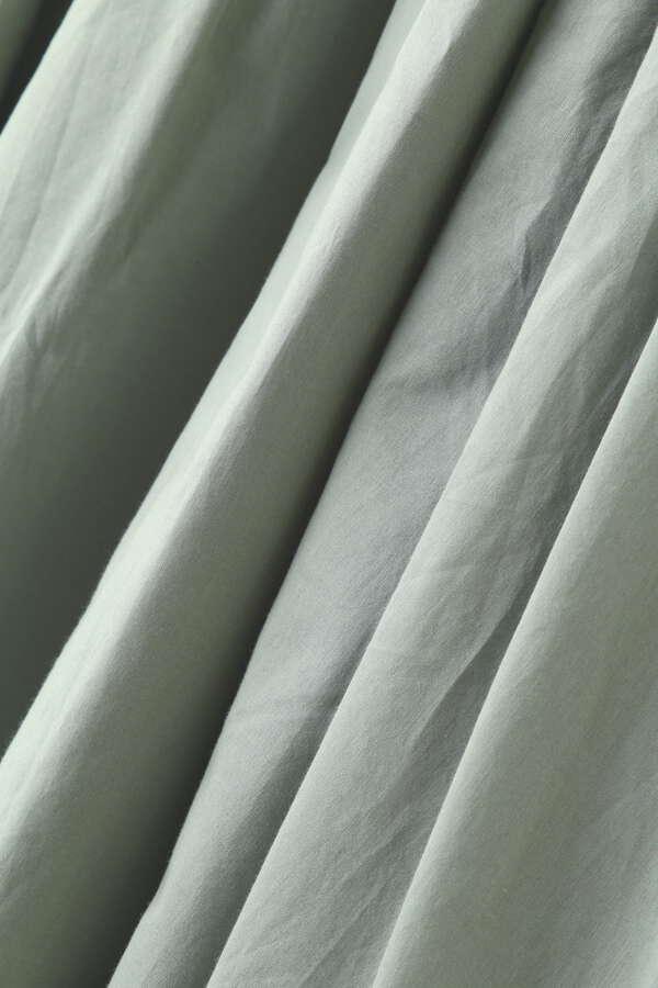 コットンローンカシュクールワンピース半袖