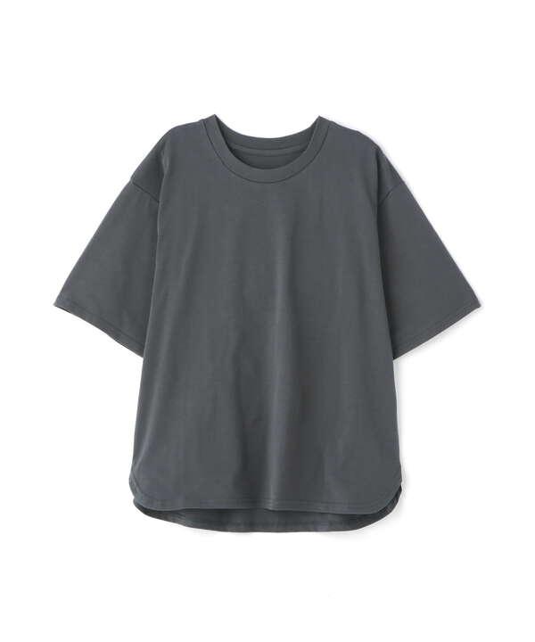 シャツテールハーフスリーブTシャツ