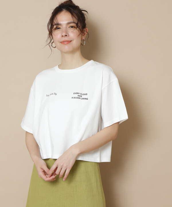 ショートロゴTシャツ
