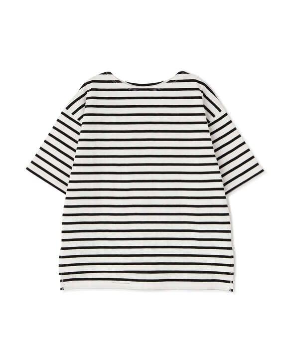 度詰めボーダーTシャツ