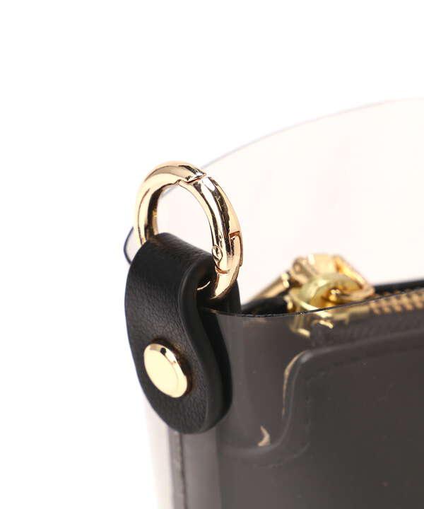 巻きハンドルバケツショルダーバッグ