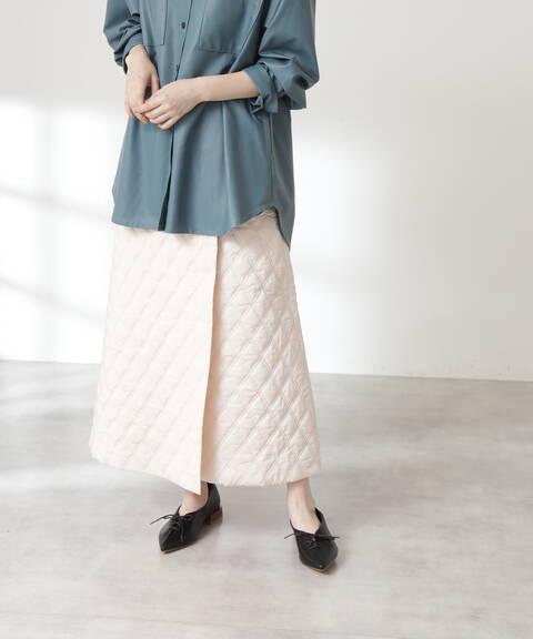 キルティングスカート