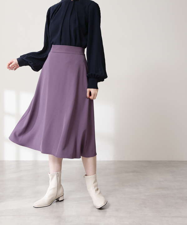 ウエストステッチフレアスカート《S Size Line》