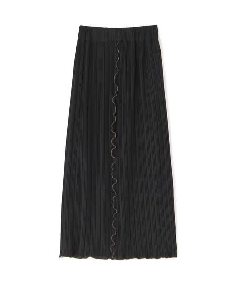 【先行予約7月中旬-7月下旬入荷予定】カットプリーツタイトスカート