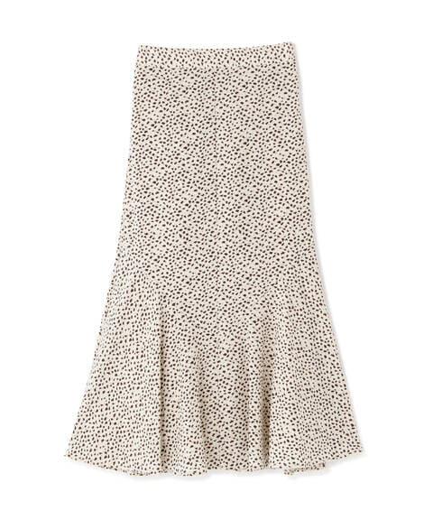 【先行予約7月上旬-7月中旬入荷予定】プリントペプラムスカート