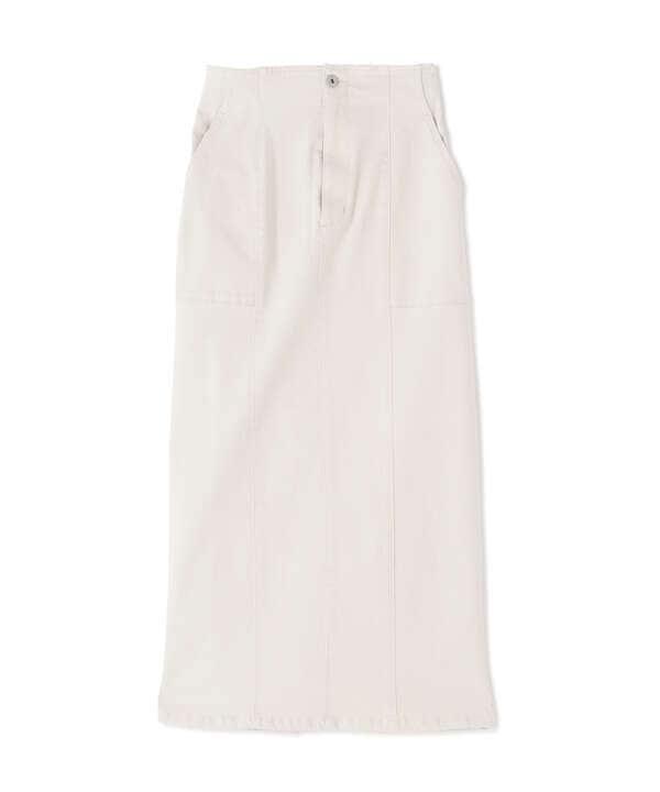 ライトコットンナロースカート