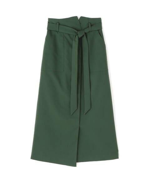 【先行予約10月上旬-10月中旬入荷予定】リボンベルトポケットスカート《S Size Line》