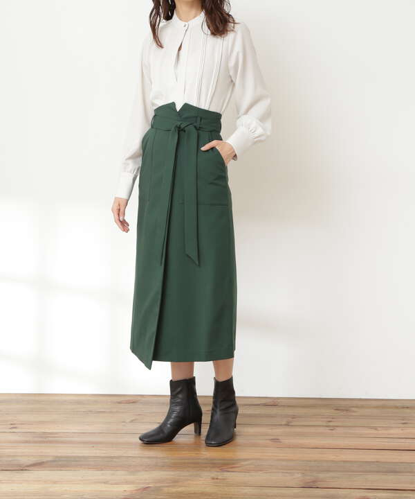 リボンベルトポケットスカート《S Size Line》