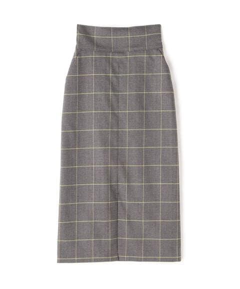 チェックナロースカート《S Size Line》