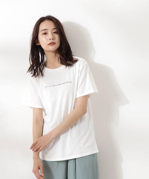 サインロゴTシャツ