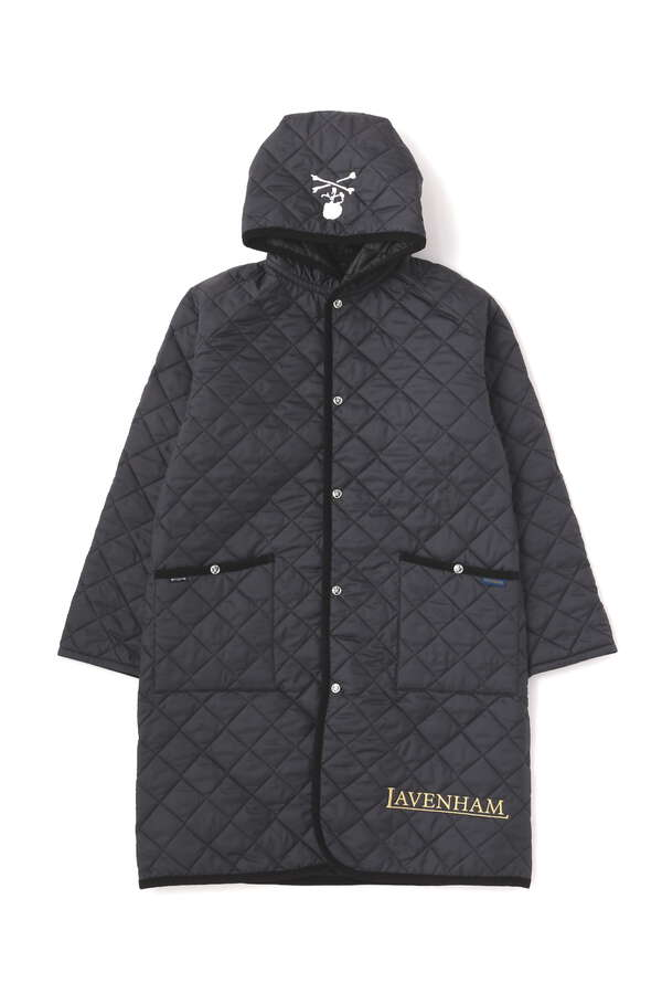 xLAVENHAM HOODED LONG COAT