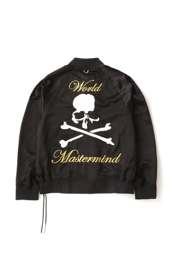 SILK BOMBER JACKETSILK BOMBER JACKET