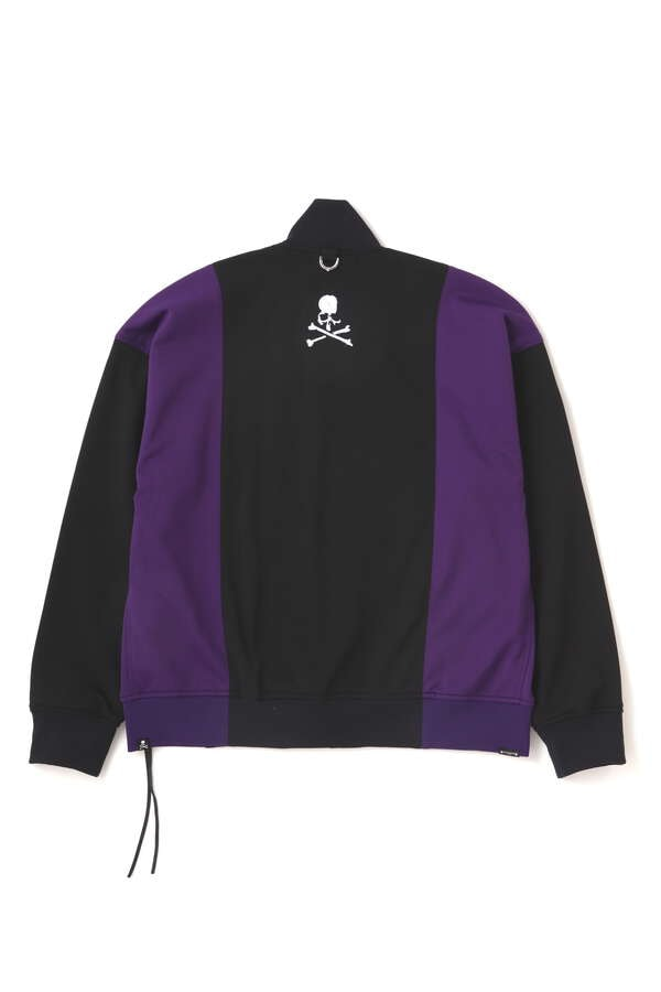 OVERSIZED 2 COLOR TRACK JACKETOVERSIZED 2 COLOR TRACK JACKET