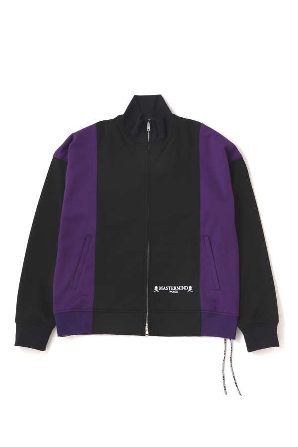 OVERSIZED 2 COLOR TRACK JACKET